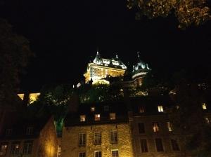 A Quebec landmark, Chateau Frontenac
