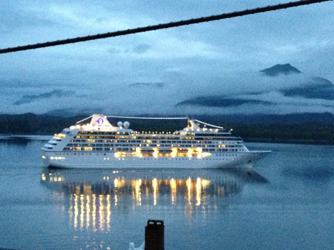 Last ship of the day