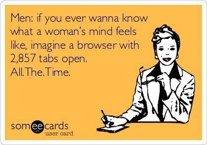 My mind at work...