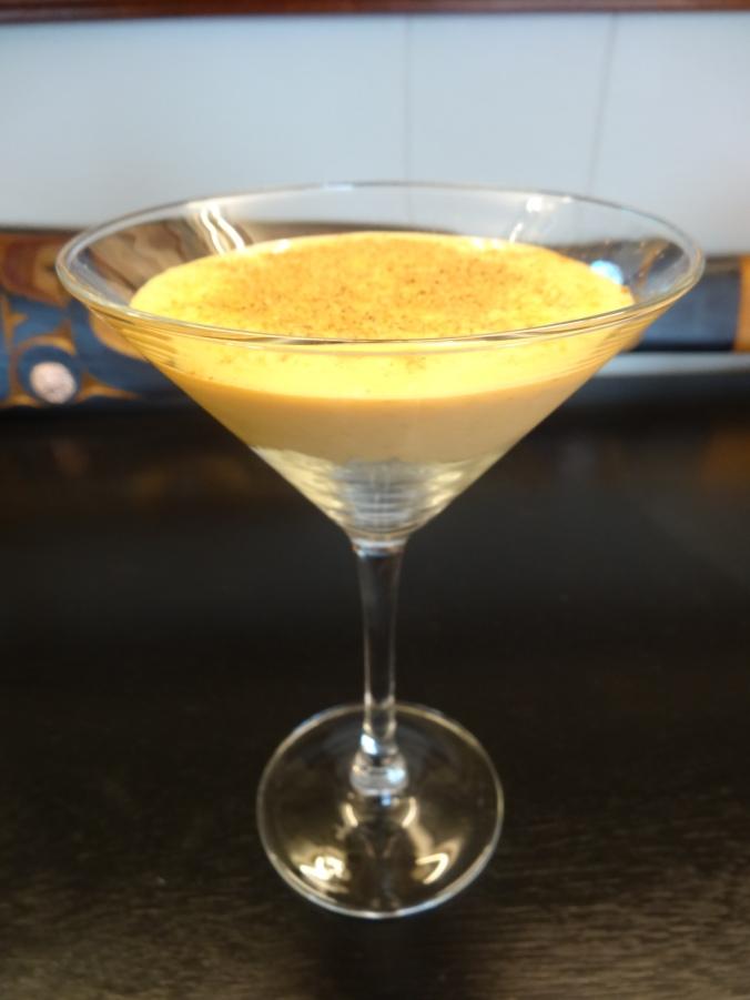 Dessert in a glass!