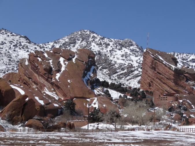 Red Rocks, a Front Range landmark